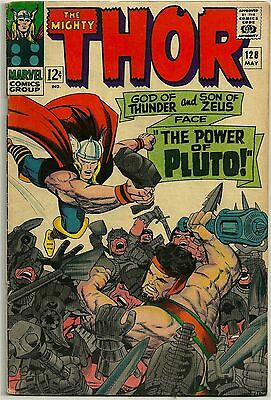 Thor #128 - Very Good-  (May 1966, Marvel)