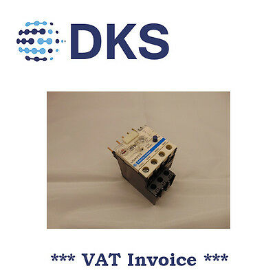 Telemecanique LR2K0312 LR2-K01312 Thermal overload relay with MAN/AUTO 3.7-5.5A