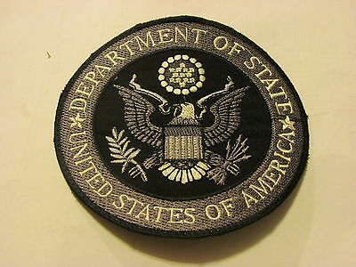 Department of State Patch Large diameter 5 1/8""