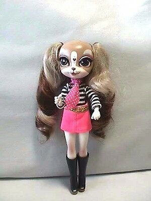 """Adorable Pinky Cooper Dog Like 9"""" Vinyl Animated TBD Doll"""