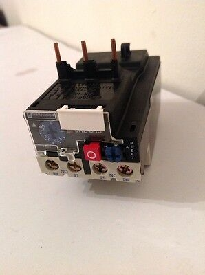 Telemecanique thermal overload relay, LR2 D13X6,  1.25-2A