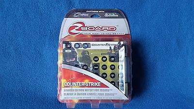 Steelseries Counter Strike - Limited Edition Keyset For Zboard - Pc - New