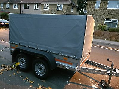 Car trailer with cover NEARLY NEW