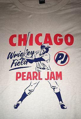 PEARL JAM - Chicago Wrigley All The Way T-Shirt size XXXL - cubs WOW 2016 3xl