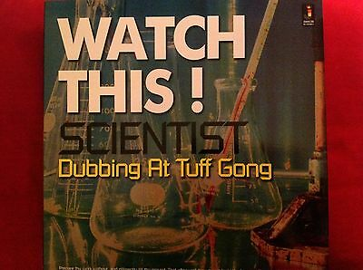Watch This! Scientist Dubbing At Tuff Gong New Vinyl Lp