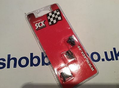 SCX Slotcar spares pack of 88350 X3 A.R.S Guides with Braids.....BNIP