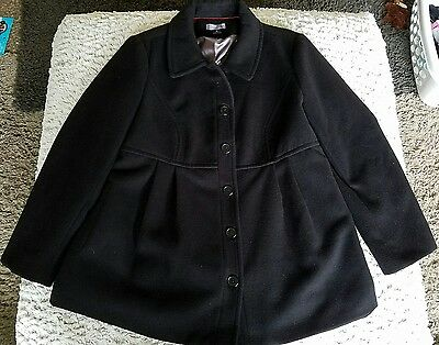 oh baby by motherhood maternity coat, size XL