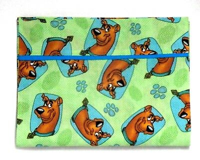 Scooby Doo Toddler Pillowcase on Lime Green Cotton SC13-7 New Handmade