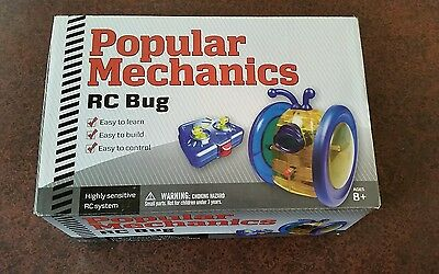 RC Bug by Popular Mechanics. easy to build easy to learn easy to control radio