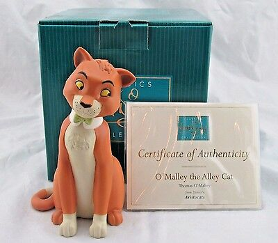 """WDCC """"O'Malley the Alley Cat"""" Thomas O'Malley from The Aristocats in Box COA"""
