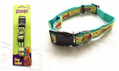 New Scooby Doo Adjustable Puppy Dog Pet Collar - Small / Medium / Large