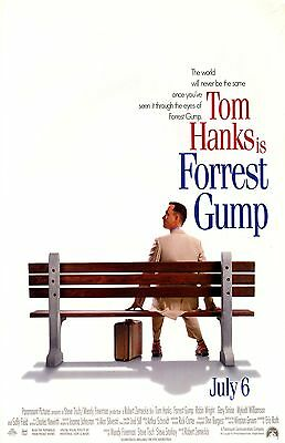 FORREST GUMP 11x17 mini movie poster collectible