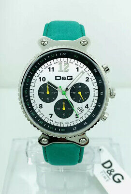 D&G Dolce And Gabbana RYTHM DW0308 Leather Strap Watch