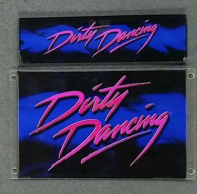 IGT Sound Chair Plexi Back Insert DIRTY DANCING