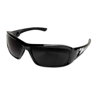 Edge Eyewear XB116  Brazeau Safety/SunGlasses, Black/Smoke Lens