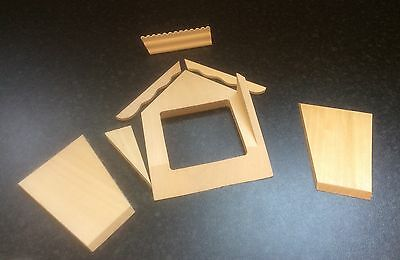 The Doll's House Emporium Dormer Window Kit with trims