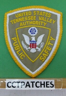 United States Tennessee Valley Authority Public Safety Shoulder Patch Tn