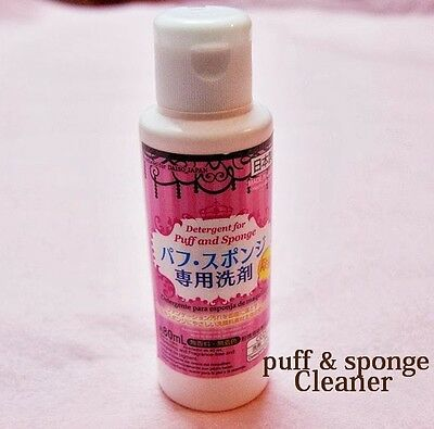 New Daiso Detergent Cleaning for Markup Puff and Sponge 80ml Free P&P F/S