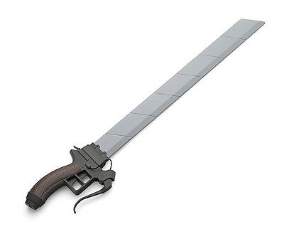 Official Attack on Titan Shingeki no Kyojn Roleplay Sword with Removable Blade