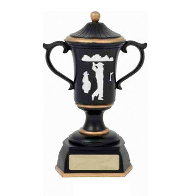 Golf Trophy Cup 210mm Engraved FREE