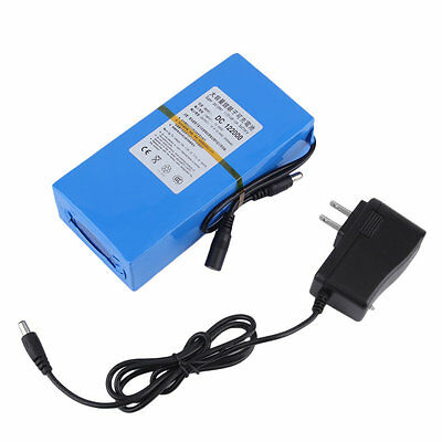20000mAh Batterie DC 12V Rechargeable Lithium-ion Li-ion US Plug Chargeur Power