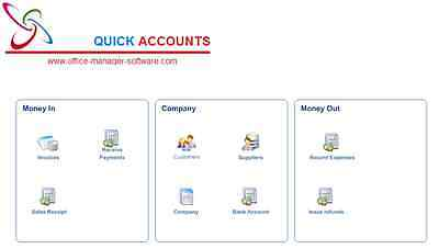 Quick Accounts Pro 2017 Invoicing, A Good Alternative to QUICKBOOKS PRO & SAGE