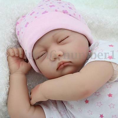 Reborn Baby Doll Handmade Realistic Newborn Girl Doll Sleeping Playmate Regalo