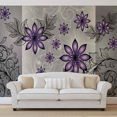 WALL MURAL PHOTO WALLPAPER XXL Flowers Floral (1244WS)