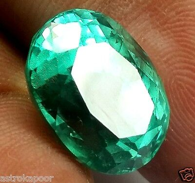 9.47 CT Green Kunzite 100% Natural GIE Certified Top Quality Superb Gemstone
