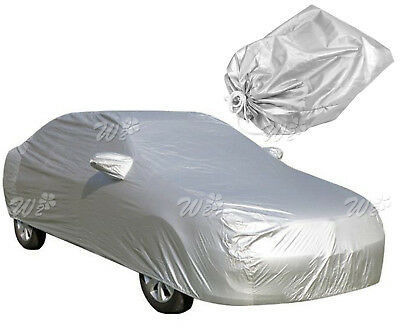 4.5M Breathable Full Anti-Uv Car Cover Outdoor W/bag Wa1-A