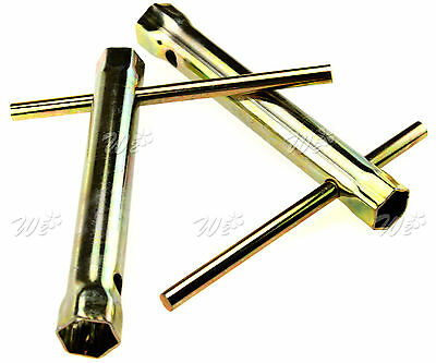 2X Motorcycle Ignition Spark Plug Spanner Deep Reach Wrench Socket 16/18Mm