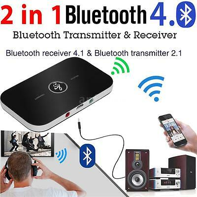 2-in-1 A2DP Wireless Bluetooth Transmitter & Receiver Stereo Audio Music Adapter