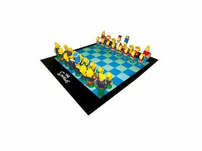 Scacchiera The Simpsons 3D -  Chess Characters United Labels
