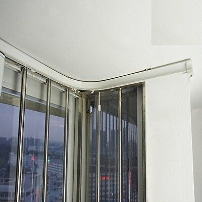 Super More 3/5 Meters Flexible Bendable Straight Curved Curtain Track Cubicle