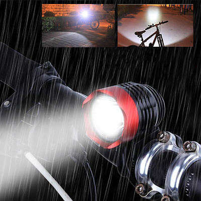 3000 Lumen T6 USB LED Cycling Bicycle Headlight Waterpoof Bike Front Light Lamp
