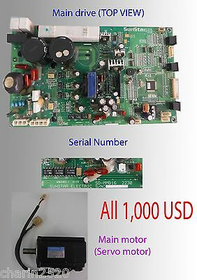 SWF embroidery machine parts(Main motor driver (SD-MMD16 2230) with servo motor)