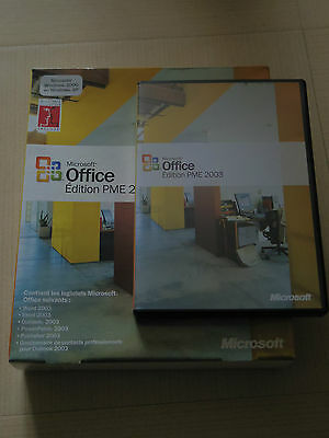Microsoft Office Edition PME 2003 Boite  gestion de contacts professionnels