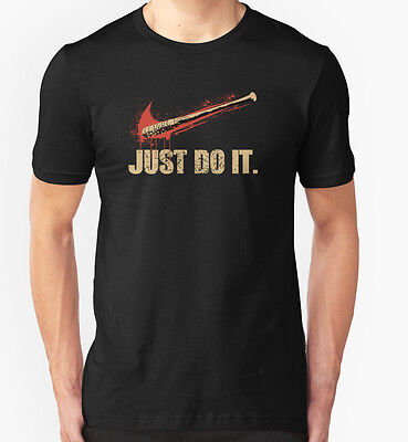 NEW Lucille - Just Do It Men White Tshirt Size S-2XL