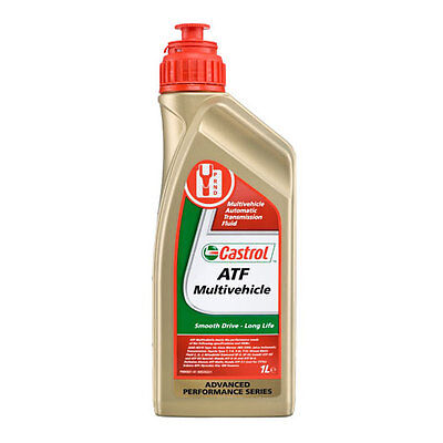 Castrol ATF Multivehicle - Automatic Transmission Fluid - 1 Litre