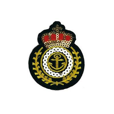 Buddly Crafts Militaria Iron On Embroidered Applique Patch