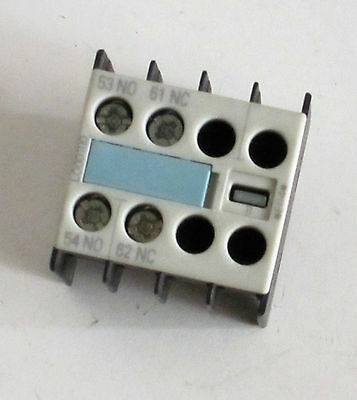 Authentic Siemens 3RH1911-1FA11 3RH19111FA11 Auxilary Contacts
