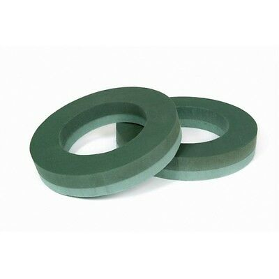 "Floral Wet Foam Oasis  Wreath Rings-Singles-Pairs 8"",10"",12"",14""16"",18""21"",25"""
