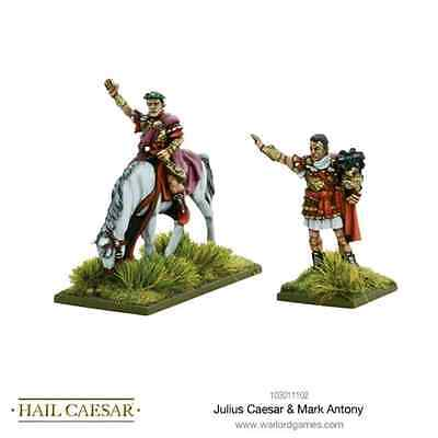 Warlord Games: Julius Caesar & Mark Antony - 2 miniature scala 28mm