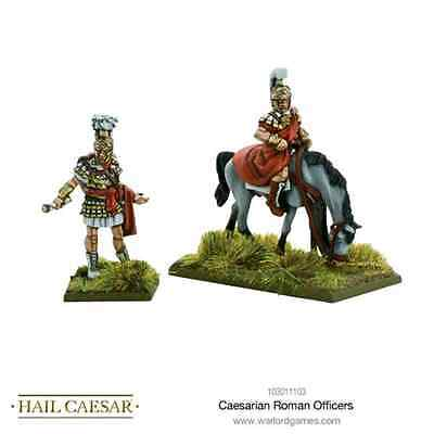 Warlord Games: Caesarian Roman Officers - 2 miniature scala 28mm