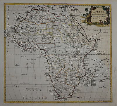 Africa Drawn From The Latest Authorities By Thomas Kitchin...1780