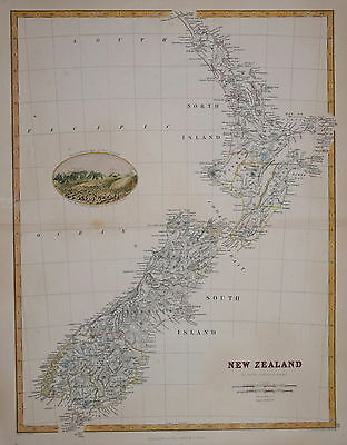 New Zealand Published By W. & A.k. Johnston. 1912.