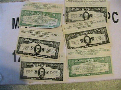 1933 NRA money stroehmann rosevelt 3 pcs  williamsport pa uncle sam depression