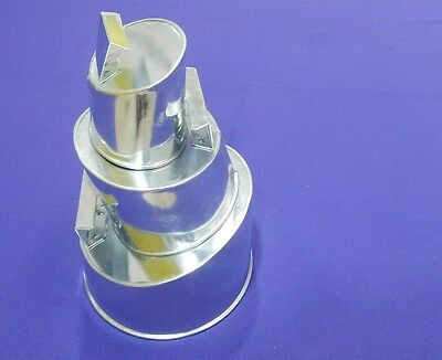 Wonky Topsy Turvy Oval Baking Tins - 3 Tier