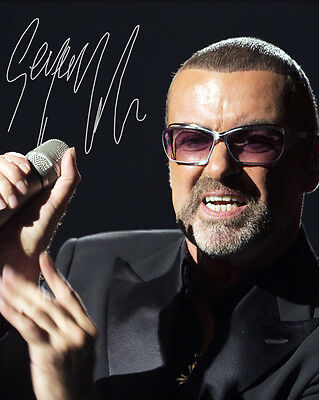 George Michael #1 - 10X8 Pre Printed Lab Quality Photo Print - Free Del