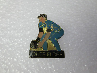 American Baseball Player Outfielder Pin Badge, Usa Sporting Memorabilia